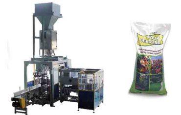 50 kg-ko poltsa automatikoa ongarri kimikoen ontziratze makina automatikoa