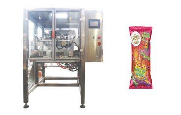 etengabeko mugimendu bertikalak osatzeko eta zigilatzeko makina osatuz