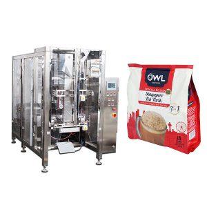 Degassing Valve Kafea Powder automatikoa Enbalatzeko Makina