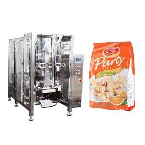 Full Automatic Food Quad Seal Bag Enbalatzeko Makina