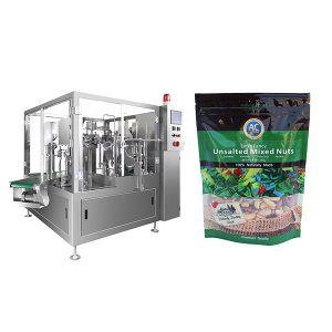 Birakaria Premade Bag Baging Machine adimentsua