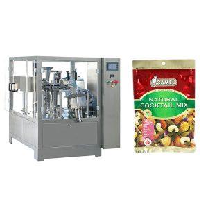 Nuts birakariak kremailera poltsa ontzi makina