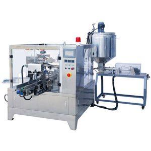 Premade Pouch Liquid & Paste Packaging Machine