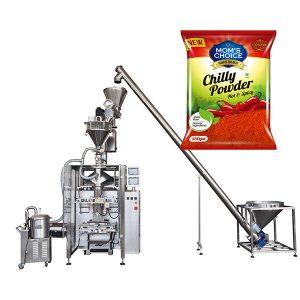 VFFS Bagger-en Enbalaketa Machine Auger betegarria Paprika eta Chilli Food hautsarekin