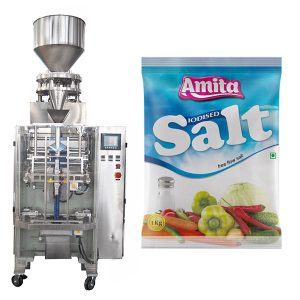 Saltsa automatiko bertikalen saltsa Salt Packing Machine