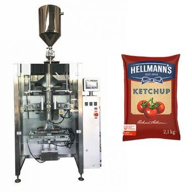 500g-2 kg ketchup saltsa ontzi makina