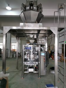 Animal Food Vertical Form Fill Granule Packing Machine